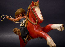 Antique Toy Stock Photo