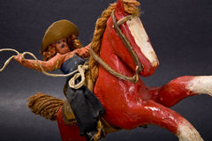 Antique Toy. Hand-made antique children's toy Stock Images