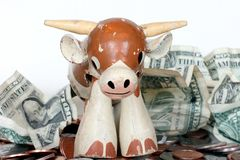 Bull Financial Market Royalty Free Stock Image