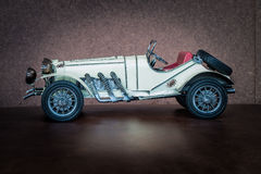 Antique toy car Royalty Free Stock Photo