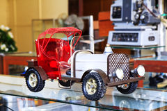 Antique toy car Stock Photos