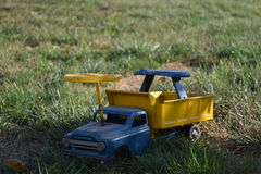 Antique Toy Truck Stock Photography