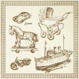 Antique toys Stock Image