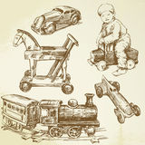 Antique toys Stock Photo