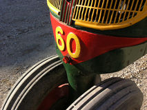 Antique tractor—detail Royalty Free Stock Images