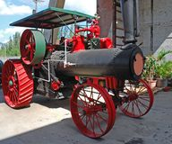 Antique tractor Stock Images