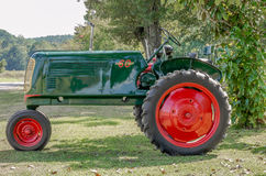 Antique Tractor. stock image