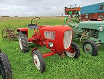 Antique tractor Royalty Free Stock Photography