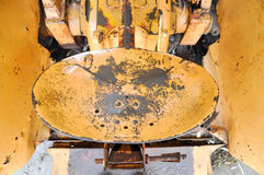 Antique Tractor Seat Stock Photography