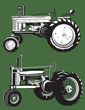 Antique Tractors Royalty Free Stock Photo