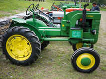 Antique Tractors. At the 62nd annual Cornish Fair, Cornish, New Hampshire. Country fresh family fun stock photography
