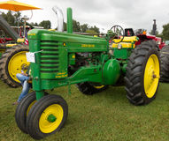 Antique tractors at an annual agricultural event in paducah Stock Images
