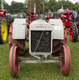 Antique tractors at an annual agricultural event in paducah Royalty Free Stock Image