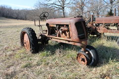 Antique Tractors stock images