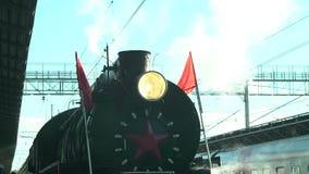Antique train stock footage