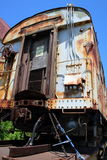 Antique train wagon Royalty Free Stock Images
