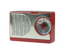 Antique Transistor Radio Stock Photos