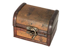 Antique treasure chest Royalty Free Stock Image