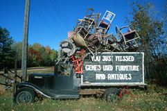 Antique truck Stock Image