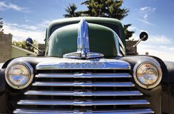 Antique truck close up Stock Photography