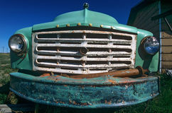 Antique truck grille Stock Photography