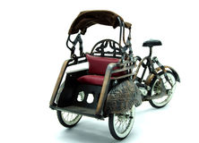 Antique TukTuk Model � Rickshaw � Thai Traditi Royalty Free Stock Photo