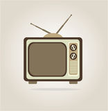 Antique tv Royalty Free Stock Images