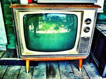 Antique tv Stock Photos