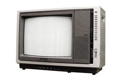 Antique TV set Royalty Free Stock Images