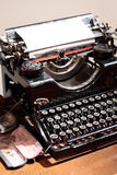 Antique type writer. Stock Photo