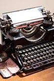 Antique type writer. Stock Photo