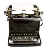 Antique type-writer Royalty Free Stock Photo