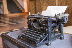 Antique type writer Royalty Free Stock Images