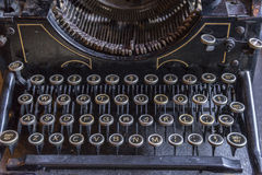 Antique type writer Royalty Free Stock Photography
