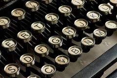 Antique typewrite Stock Photos