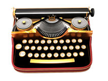 Antique typewriter Royalty Free Stock Photo