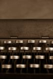 Antique Typewriter. Retro style image of Antique Typewriter royalty free stock photos