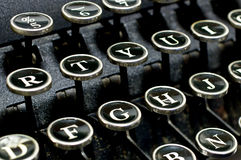 Antique typewriter 2 Royalty Free Stock Photos