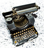 Antique typewriter Royalty Free Stock Photo