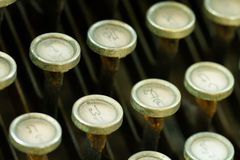 Antique typewriter Stock Photos