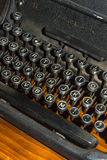 Antique typewriter detail Royalty Free Stock Images