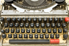 Antique typewriter Royalty Free Stock Photos
