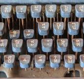 Antique typewriter Royalty Free Stock Photos