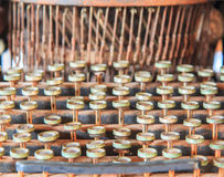 Antique typewriter Stock Images