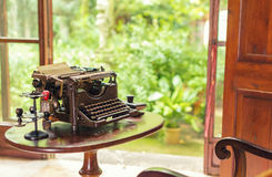 Antique typewriter. Stock Images