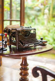 Antique typewriter. Royalty Free Stock Photo
