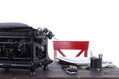 Antique typewriter vintage filter Stock Photo