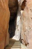 Antique underground reservoir, Zippori, Israel Stock Photo