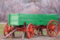 Antique US army supply wagon Stock Photos