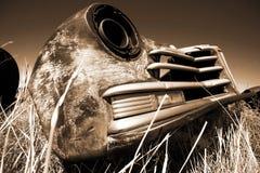 Antique USA car Stock Photo